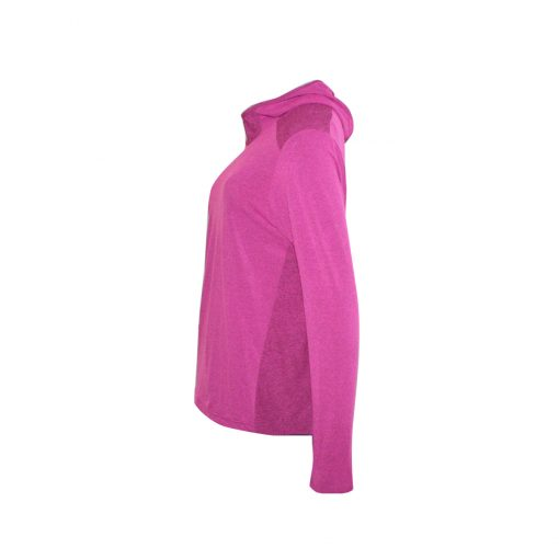 Take it to win Long sleeve shirt with hood, pink color, unisex