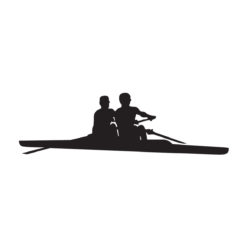 Rowing Sticker for boat, car or or other surfaces