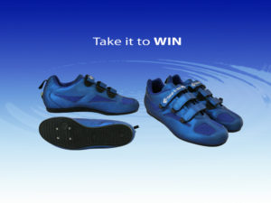 Takei it to WIN rowing shoes