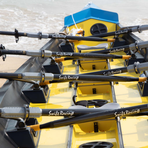 Swift 4x boat for coastal rowing